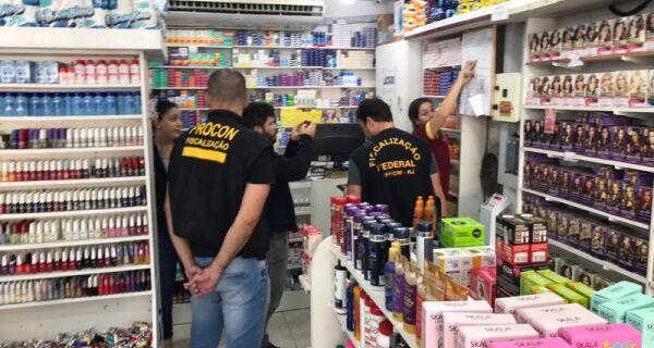 Operação do Procon em Arraial do Cabo autua 17 farmácias por irregularidades