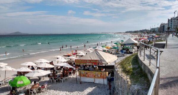 Cabo Frio vai suspender funcionamento de comércio nas praias