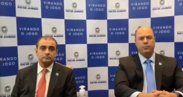 Após pronunciamento de Bolsonaro, Witzel afirma que quarentena no Rio de Janeiro continua