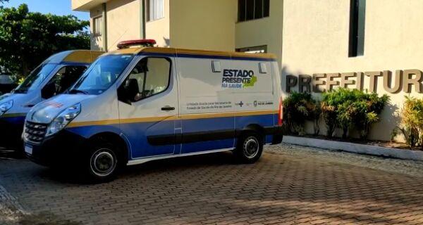 Cabo Frio recebe veículos para a Saúde do Governo do Estado