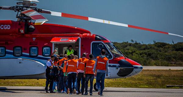 Petrobras realiza testagem rápida no pré-embarque para plataformas