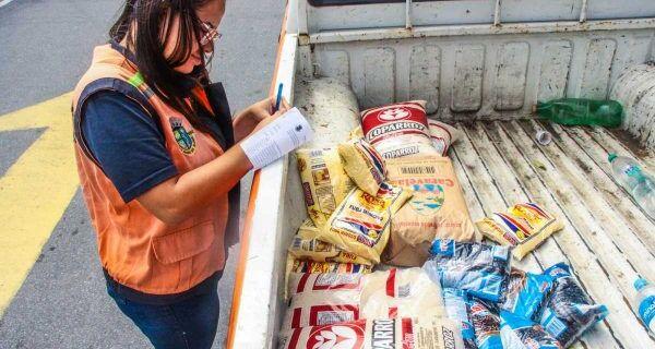 Campanha de arrecadação de alimentos é realizada em São Pedro da Aldeia