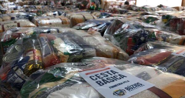 Justiça determina contagem e verificação de cestas básicas entregues em Búzios