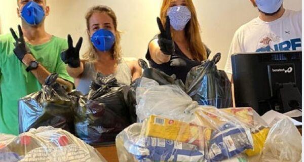 Grupo formado por moradores de Búzios auxilia vulneráveis durante a pandemia