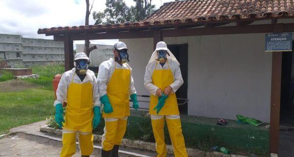 Coveiros de Cabo Frio recebem equipamentos de proteção individual contra o novo coronavírus