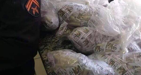 Homem é detido com mais de 3 mil pinos de cocaína durante operação em Araruama