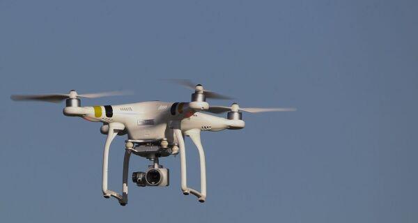 Drones com alto-falantes serão usados para evitar aglomerações no Rio