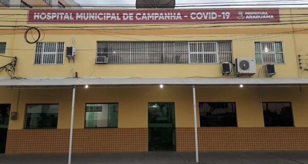 Prefeitura de Araruama inaugura hospital de campanha para Covid-19