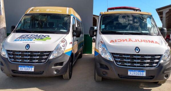 Secretaria de Saúde de Iguaba Grande recebe mais dois veículos do Governo do Estado