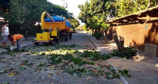Produção de lixo comercial diminui 40% em Cabo Frio no mês de março