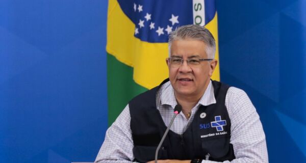 Secretário Nacional de Vigilância em Saúde Wanderson de Oliveira pede demissão