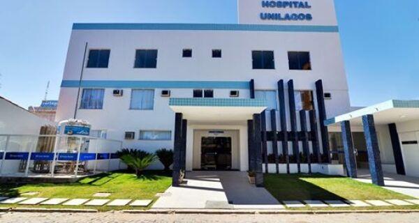 Hospital Unilagos, em Cabo Frio, tem 11 internados nesta quarta-feira (29)