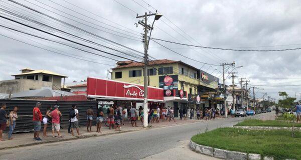 Procon de Cabo Frio fiscaliza agências bancárias durante saque emergencial
