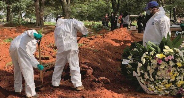Covid-19: Brasil tem 881 mortes registradas em 24h e chega a 12,4 mil