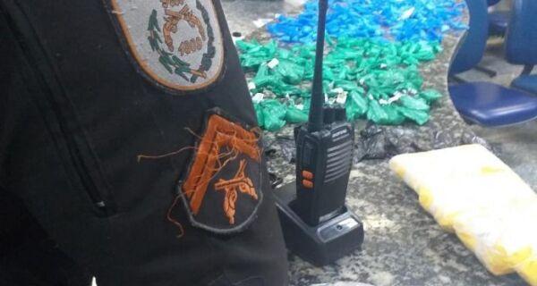 PM apreende 1Kg de pasta base de cocaína no Jacaré, em Cabo Frio