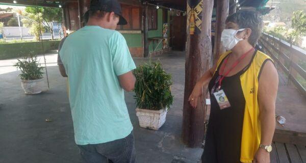 Prefeitura de Arraial faz abordagem social com moradores de rua