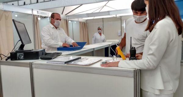 Centro de Triagem 24h para Covid-19 é inaugurado em Iguaba Grande