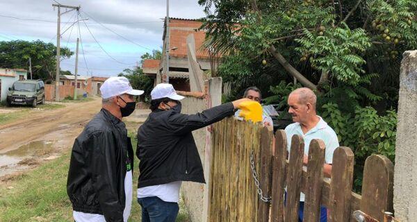 Prefeitura de Arraial entrega máscaras de proteção para moradores dos distritos