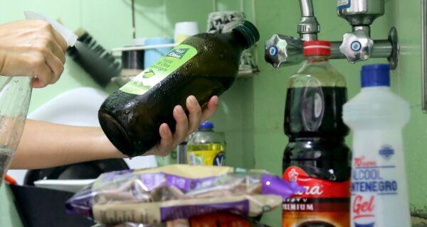 Bombeiros alertam sobre cuidados com o uso do álcool para higienização