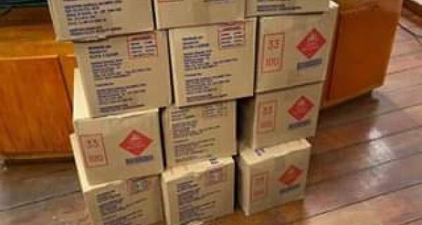 Arraial anuncia chegada de novo lote de equipamentos de proteção