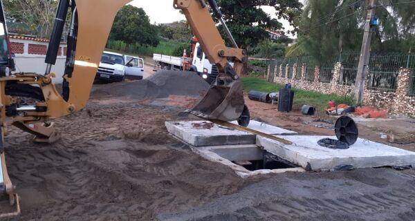 Balneário São Pedro recebe melhoria  em sistema de captação de esgoto