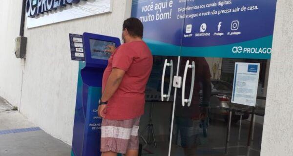 Prolagos disponibiliza totem de autoatendimento em frente às lojas