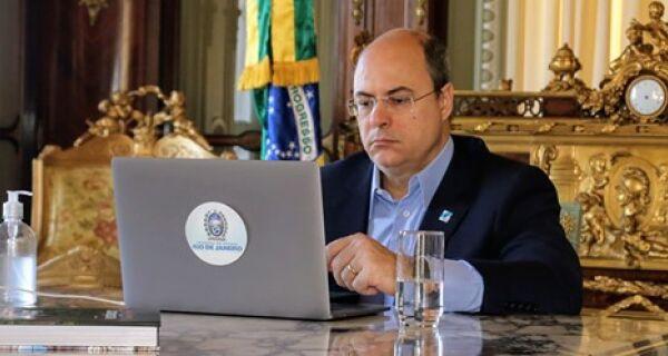 Governador discute impacto da crise da Covid-19 nas finanças do estado