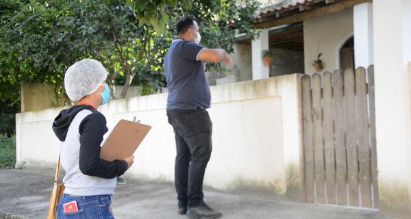 Ação de combate ao mosquito da dengue continua durante pandemia em Iguaba Grande