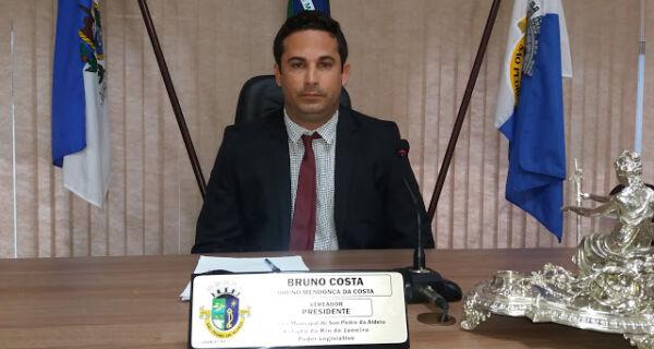 Presidente da Câmara de São Pedro da Aldeia é internado com suspeita de covid-19