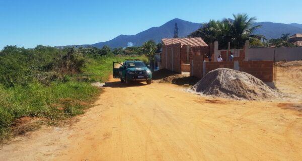 Polícia Ambiental localiza construção irregular em Saquarema