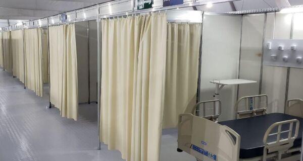 Hospitais de campanha não tinham prazo de entrega garantido em contrato