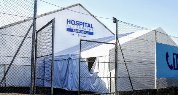 Hospital de Campanha de São Gonçalo é inaugurado