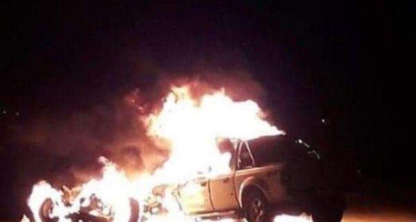 Cabo da PM morre carbonizado em acidente em Saquarema