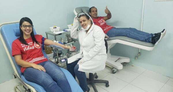 Incentivo à doação de sangue na região é tema de encontro virtual
