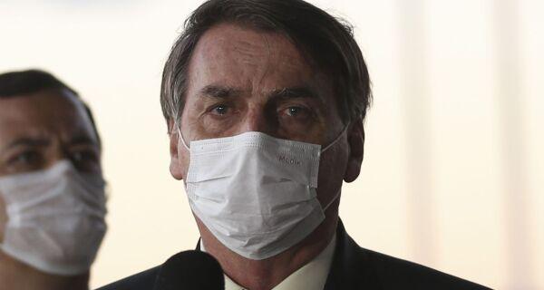 Presidente Jair Bolsonaro confirma que testou positivo para Covid-19