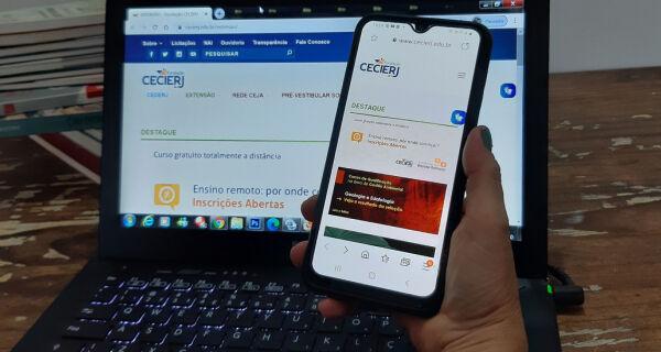Fundação Cecierj lança cursos gratuitos on-line para professores da Educação Superior
