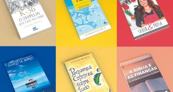 Sophia Editora lança novo site com livros de autores da região e envio para todo o Brasil