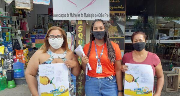Associações de moradores se mobilizam para coletar óleo de cozinha usado