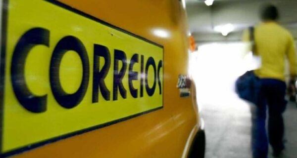 Correios anuncia mutirão de entrega neste fim de semana