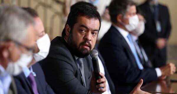 Governador interino do Rio diz que vai manter foco na pandemia