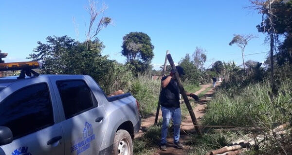 Cabo Frio realiza operação contra loteamento irregular em Tamoios e Maria Joaquina