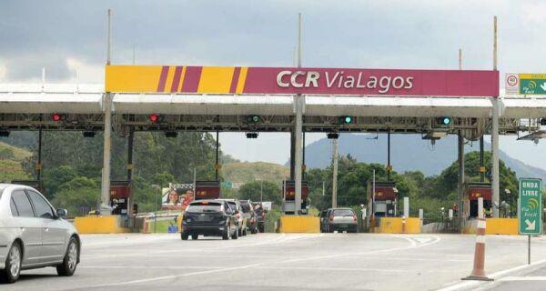 Novo valor do pedágio da Via Lagos já está em vigor