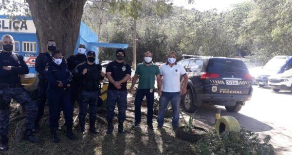 Polícia Federal treinará Guarda Municipal de Arraial do Cabo para uso de armas