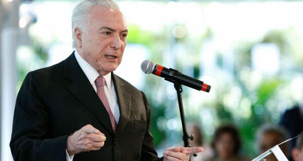Justiça Federal autoriza saída de Michel Temer do Brasil