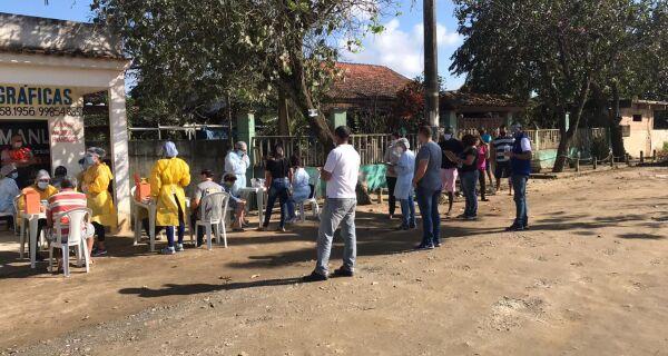 Cinco pessoas são diagnosticadas com Covid-19 durante ação em Araruama