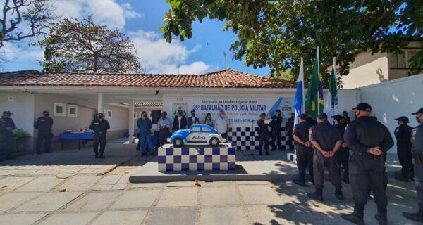 Departamento de Policiamento Ostensivo é reinaugurado em Búzios