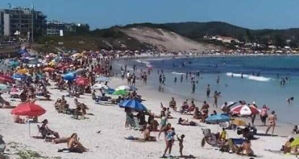 Ministério Público classifica liberação do trabalho nas praias de Cabo Frio como 'inadequada'