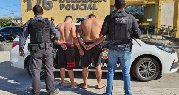 Polícia prende acusados de assalto a turista de Petrópolis no Peró, em Cabo Frio