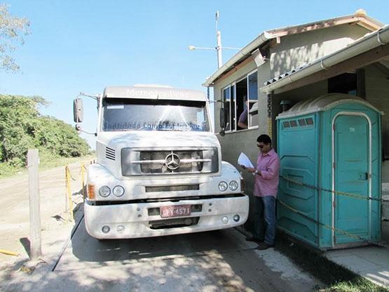 Mineradores inauguram novas balanças rodoviárias em Tamoios, no 2º Distrito de Cabo Frio