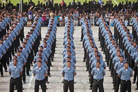 Governo do Estado convoca 812 novos policiais militares